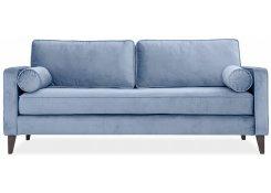 Прямой диван Клауд (Голубой)