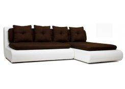 Угловой диван Кормак (Коричневый)