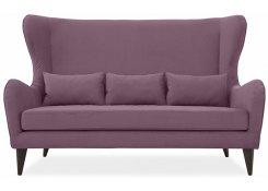 Прямой диван Грета (Фиолетовый)