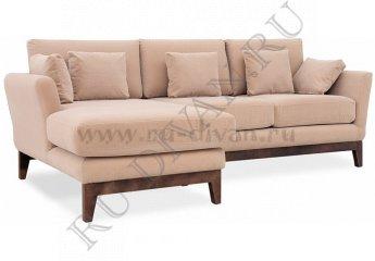 Угловой диван Дублин фото 1 цвет бежевый
