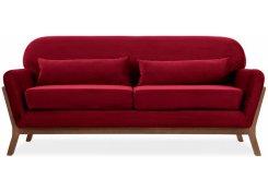 Прямой диван Йоко (Красный)