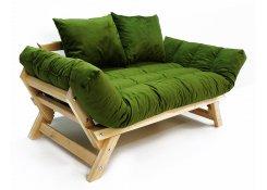 Диван-кушетка Амбер зеленый