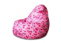 Кресло Мешок Груша Розовые Бабочки (Оксфорд) (3XL, Классический)