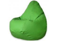 Кресло Мешок Груша Зеленая ЭкоКожа (3XL, Классический)