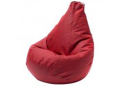 Кресло Мешок Груша Красная ЭкоКожа (3XL, Классический)
