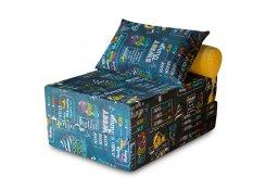 Бескаркасный диван PuzzleBag Ice Cream L