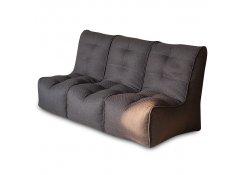 Бескаркасный диван SHAPE Коричневый 3 секции