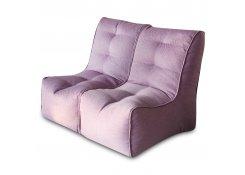 Бескаркасный диван SHAPE Фиолетовый 2 секции