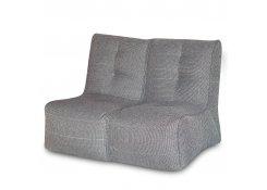 Бескаркасный диван SHAPE Серый 2 секции