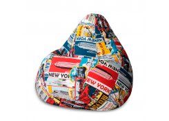 Кресло Мешок Груша New York (XL, Классический)