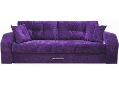 Диван еврокнижка Манчестер 08 (Фиолетовый)
