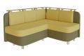 Угловой диван Лагуна для кухни фото 1 цвета: зеленый, желтый