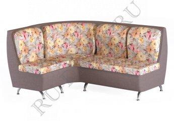 Угловой диван Беседа 2 для кухни – характеристики фото 1 цвета: серый, коричневый