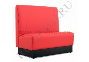 Диван Мегаполис – доставка фото 1 цвета: красный, черный